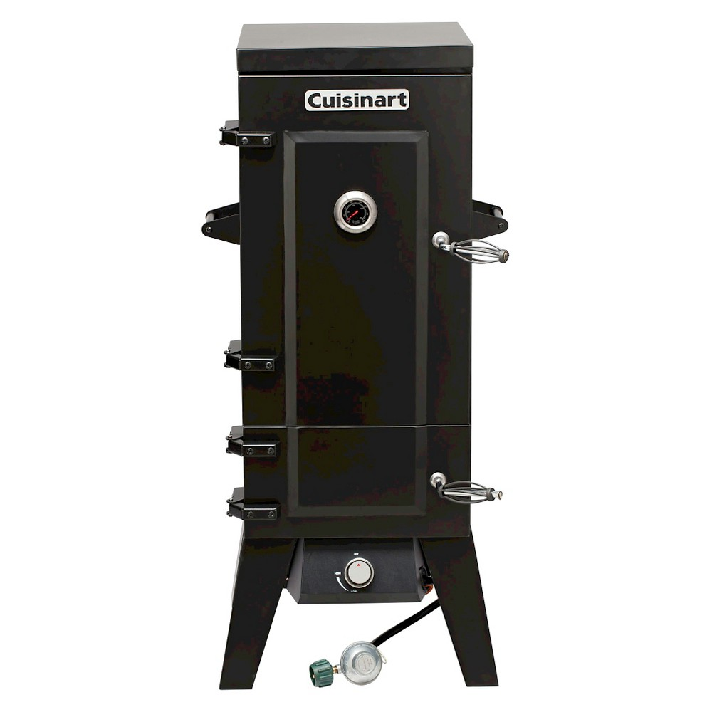 Cuisinart Vertical Propane Gas Smoker - Black