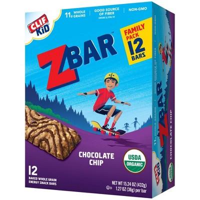 CLIF Kid ZBAR Chocolate Chip Snack Bars