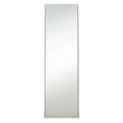 "18"" x 58"" Evans Free Standing Floor Mirror with Easel White - Kate and Laurel"