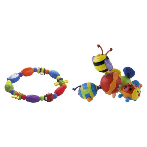 Nuby Teether Set with Bug-a-Loop and Twisty Bugz (2 pack) - image 1 of 1