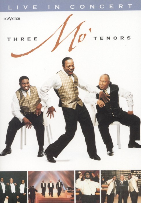 Three mo' tenors:Live in concert (DVD) - image 1 of 1