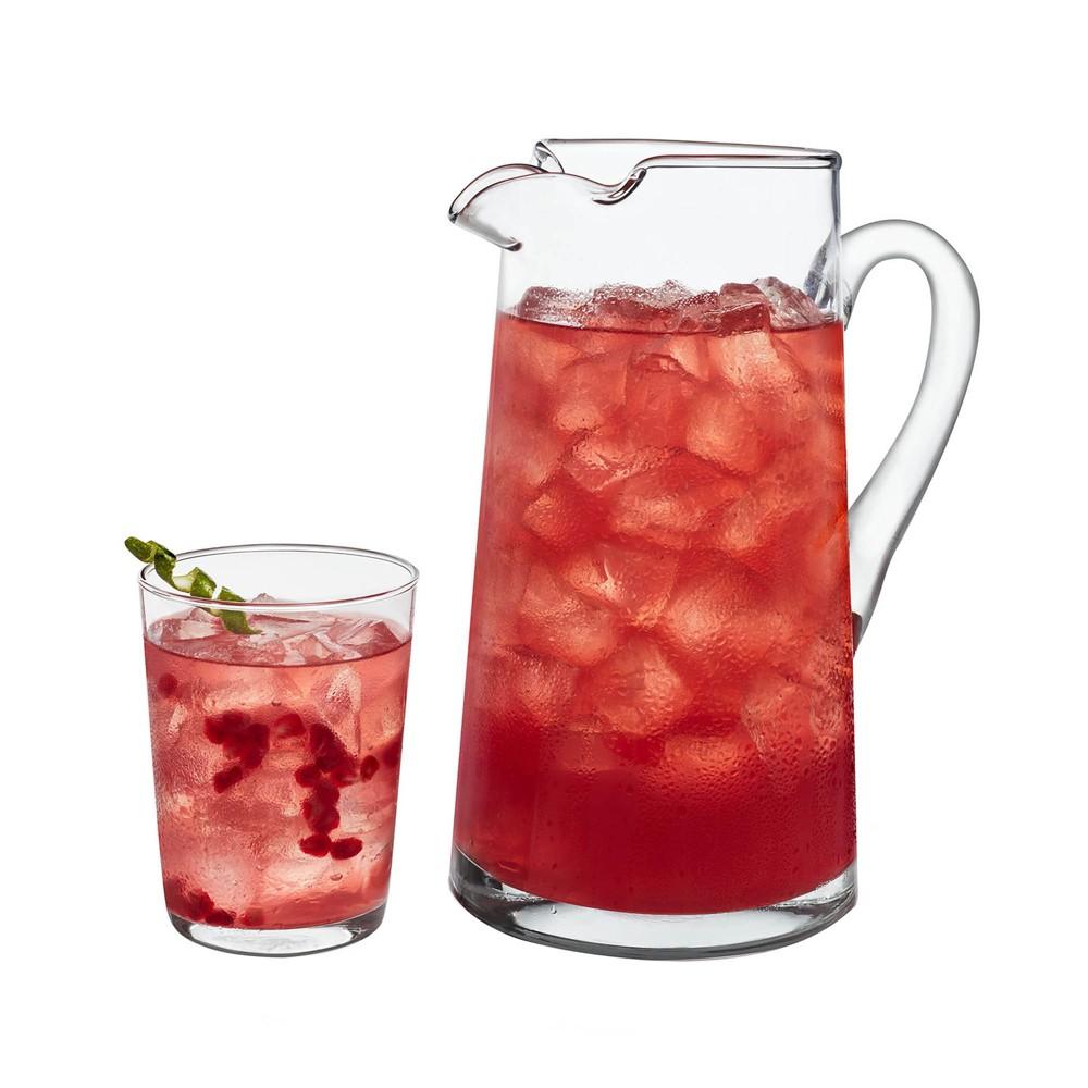 Image of Libbey Collins Entertaining Beverage Server 5pc Set, Clear