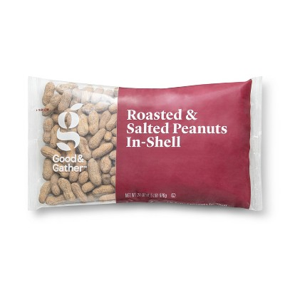 Roasted & Salted Peanuts In-Shell - 24oz - Good & Gather™