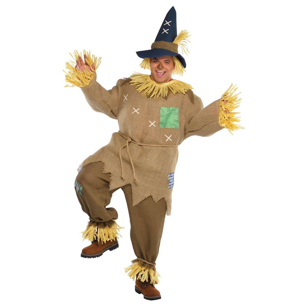 Adult Mr Scarecrow Halloween Costume One Size
