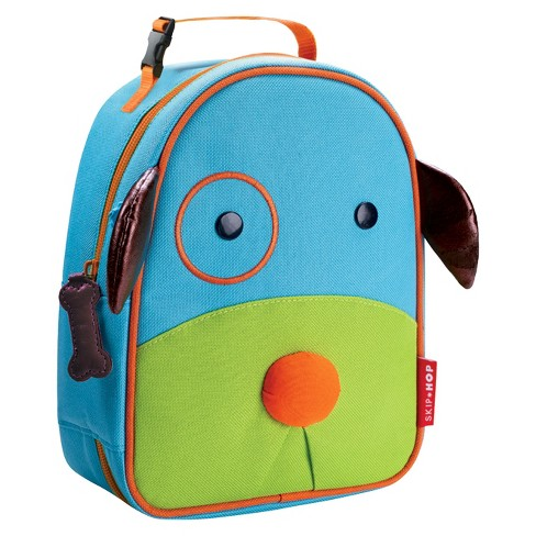 Skip Hop Zoo Little Kids Toddler Insulated Lunch Bag Dog