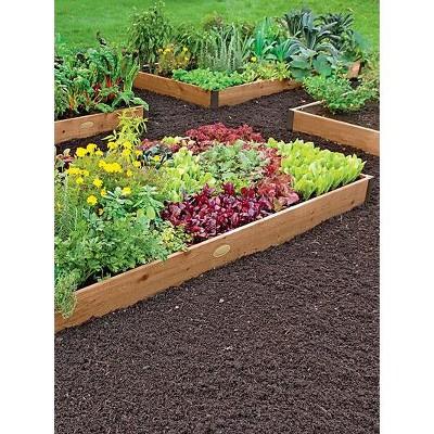 Raised Garden Bed 2' x 12' - Gardener's Supply Company