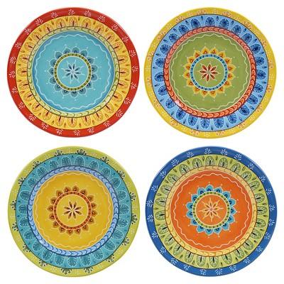 Certified International® Valencia Dessert Plates - 8.75 x8.75  Set of 4