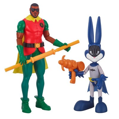 Space Jam: A New Legacy – Ultimate 12in LeBron James (Robin) & 9in Bugs Bunny (Batman) Action Figures