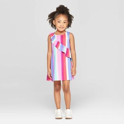 Genuine Kids® from OshKosh Toddler Girls' Air Brush Striped Dress - 12M