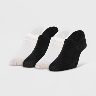 Peds Women's Nylon Sport 4pk Liner Socks 5-10