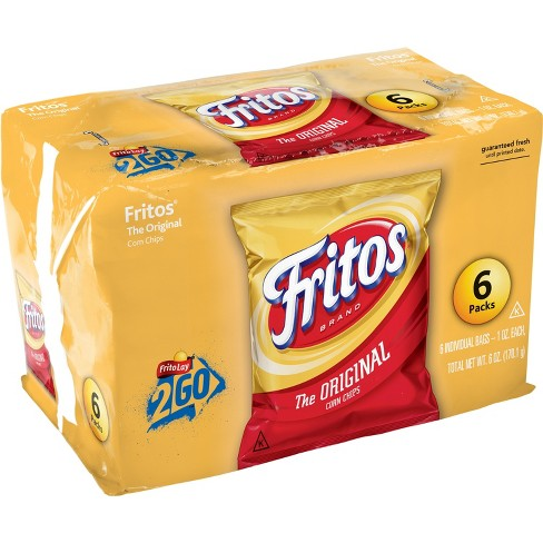 Fritos The Original Corn Chips - 6pk - image 1 of 4