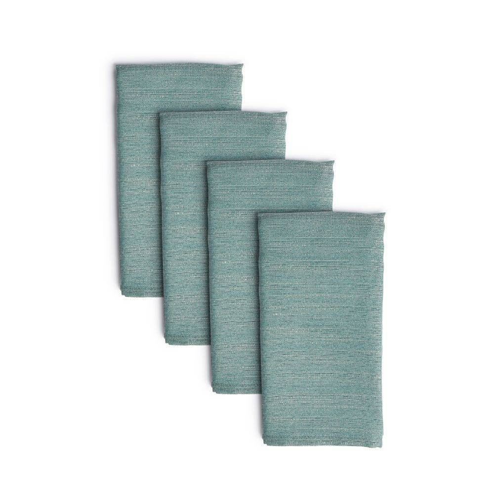 """Image of """"4pk 20""""""""X20"""""""" Harper Napkins Blue - Town & Country Living"""""""