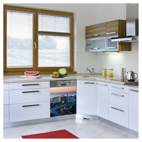 The City Awakes Dishwasher Wall Decal - image 1 of 1