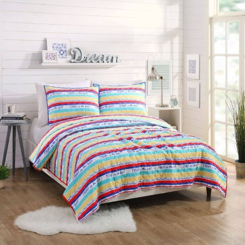 Today Stripe Quilt Sets - Molly Hatch for Makers Collective - image 1 of 4