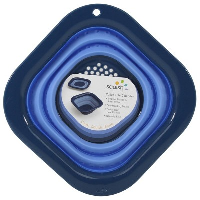 Squish 3cup Square Berry Colander Blue