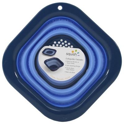 Squish 3cup Square Berry Colander Blue