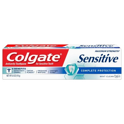 Toothpaste: Colgate Sensitive Complete Protection