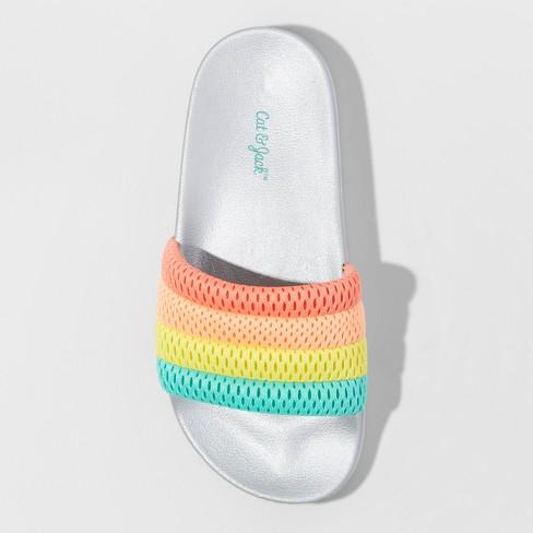 63ea1034597e Girls  Maria Slide Sandals - Cat   Jack™   Target