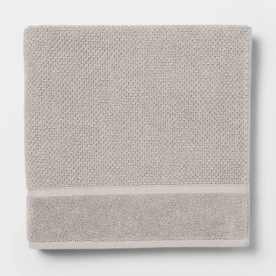 Performance Bath Sheet Gray Texture - Threshold™