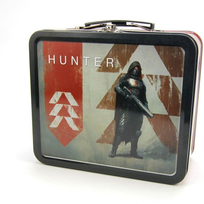 Crowded Coop, LLC Destiny Guardian Tin Lunch Box, Hunter - image 1 of 2