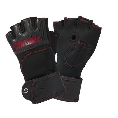 Century Martial Arts Men's Brave Gel Gloves L/XL - Black/Red