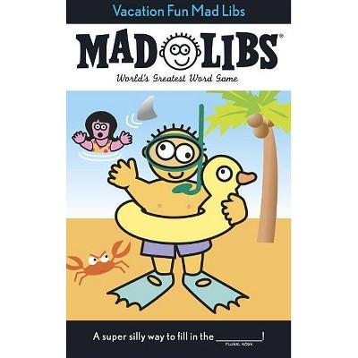 Vacation Fun Mad Libs by Roger Price (Paperback)