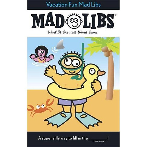 Vacation Fun Mad Libs by Roger Price - image 1 of 1