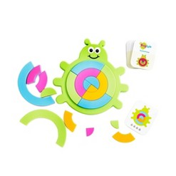 Fat Brain Toys Bugzzle, Baby and Toddler Learning Toys