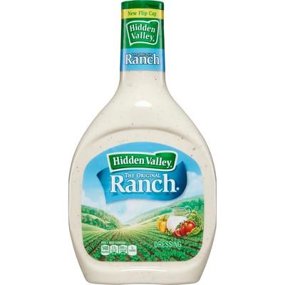 Hidden Valley Original Ranch Salad Dressing & Topping - Gluten Free - 24oz Bottle