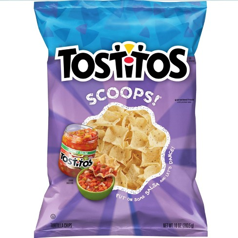Tostitos Scoops Tortilla Chips -10oz - image 1 of 4
