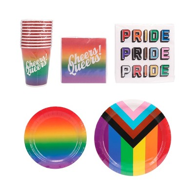 100ct Pride Paper Party Favor Pack