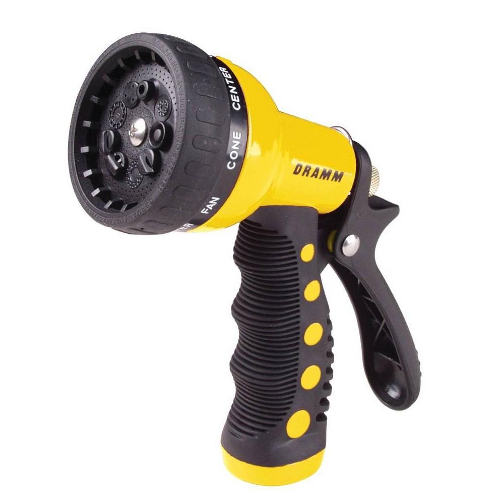 Image of 9 Pattern Revolver Spray Nozzle Yellow - Dramm