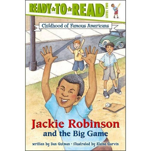 Jackie Robinson and the Big Game - (Childhood of Famous Americans (Paperback)) by  Dan Gutman - image 1 of 1