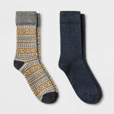 Men's Camp Socks 2pk - Goodfellow & Co™ - 10-13