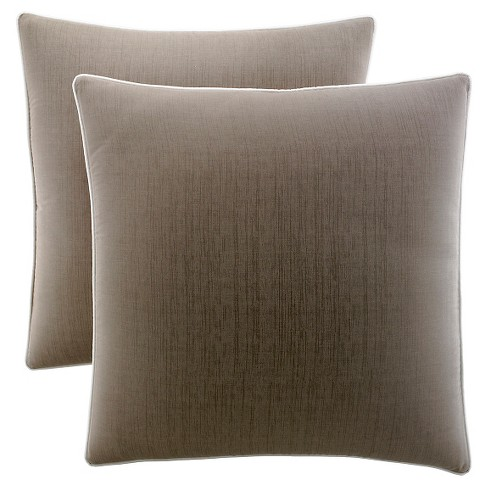 Brown Pillow Sham (Euro) - Stone Cottage® - image 1 of 1
