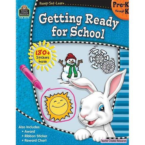 Ready-Set-Learn: Getting Ready for School Prek-K - (Paperback) - image 1 of 1
