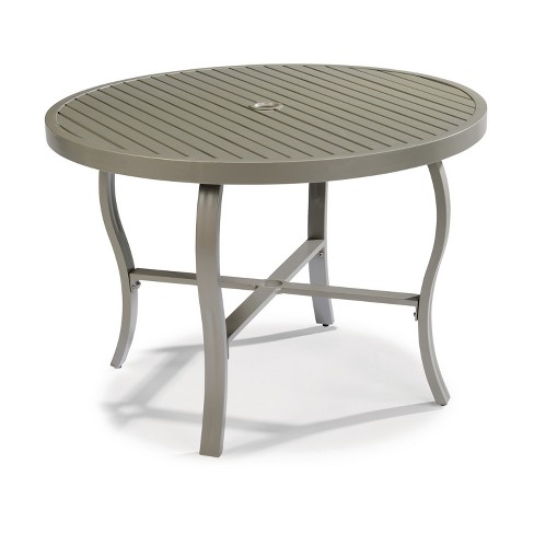 Daytona 42 Round Outdoor Dining Table Dark Gray Home Styles Target