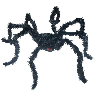 Halloween Light Up Spider Long Hair