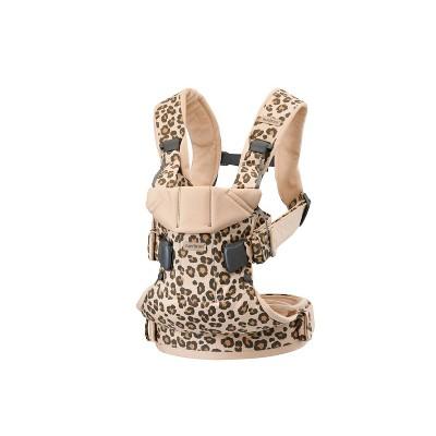 BabyBjorn Carrier One in Cotton - Beige Leopard