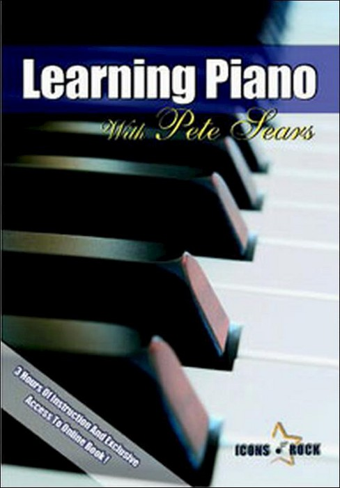 Pete sears:Learning piano (DVD) - image 1 of 1