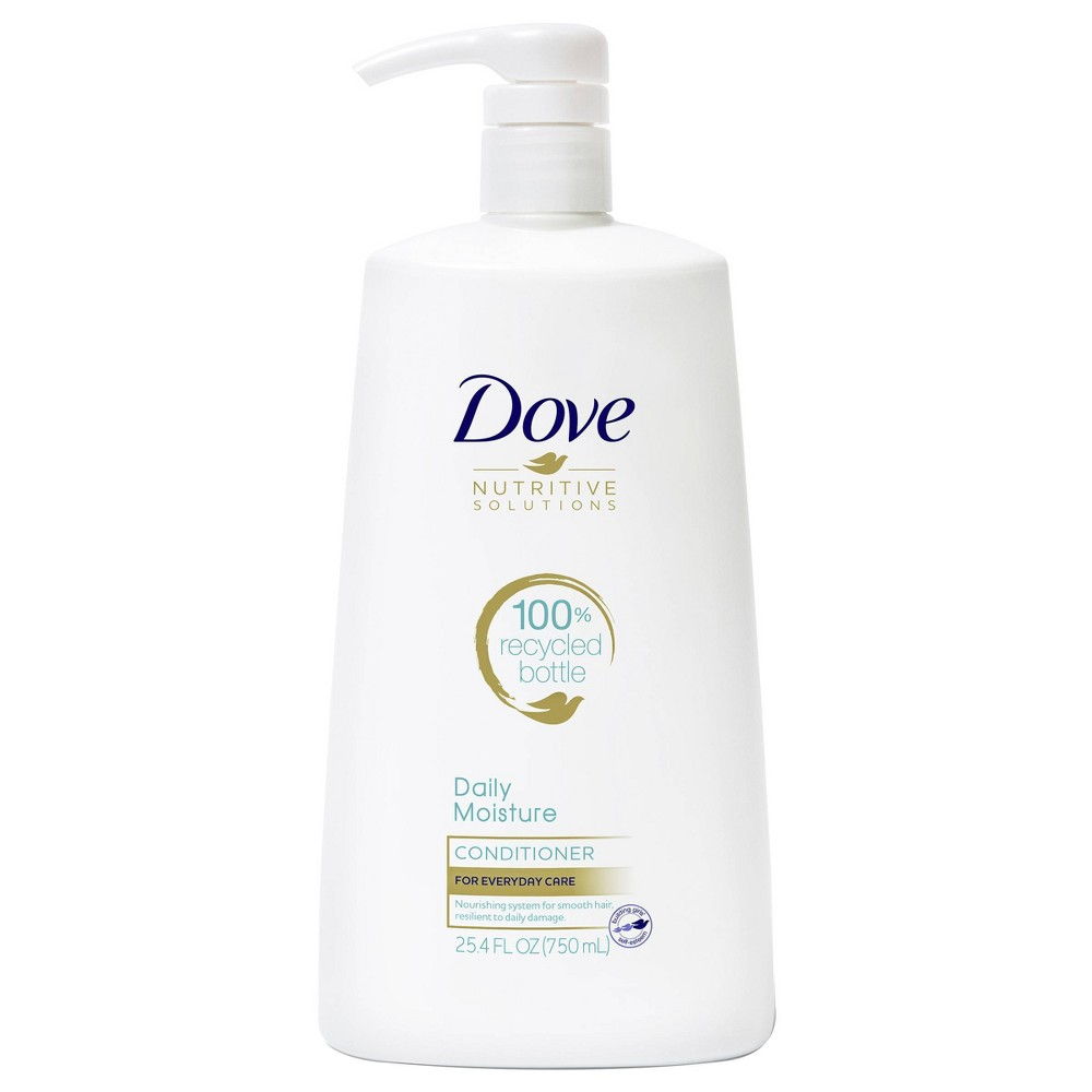 Dove Nutritive Solutions Moisturizing Conditioner With Pump For Normal To Dry Hair Daily Moisture 25 4 Fl Oz
