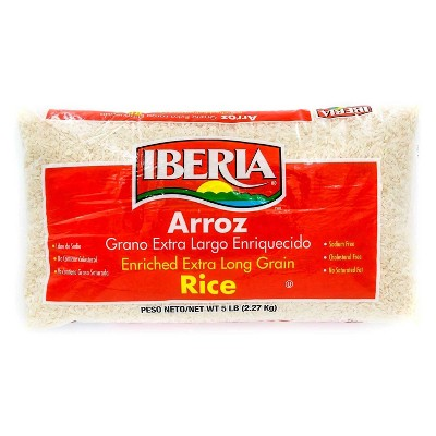 Rice: Iberia Enriched Extra long Grain Rice