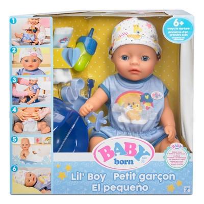 BABY Born Lil' Boy - Blue Eyes