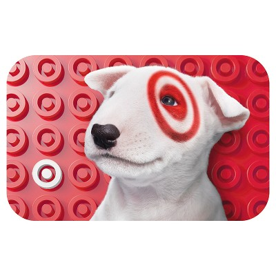 Puppy with Bullseyes GiftCard - $50