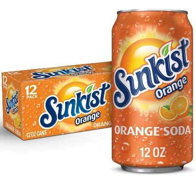 Sunkist Orange Soda - 12pk/12 fl oz Cans