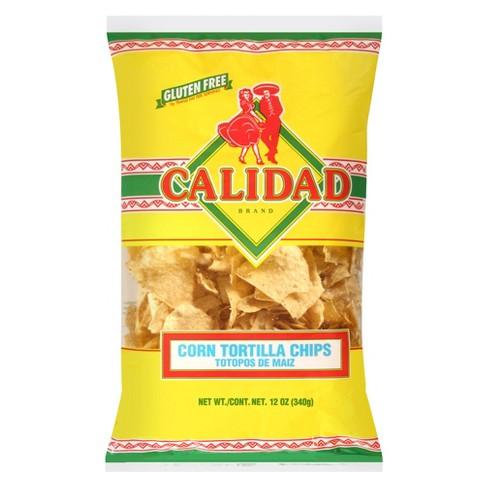 Calidad Yellow Corn Tortilla Chips - 12oz - image 1 of 3