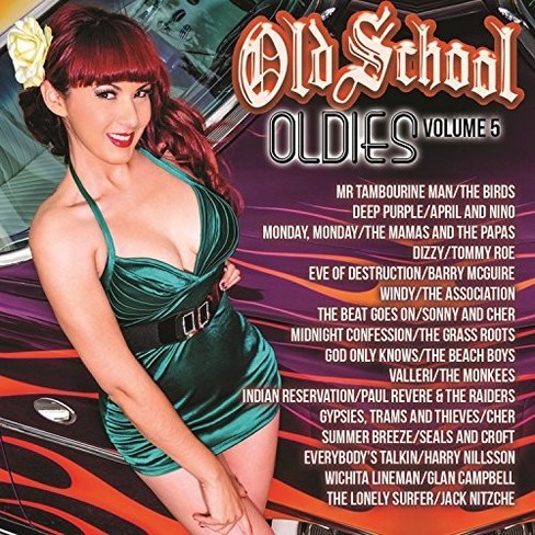 Various - Old School Oldies Volume 5 (CD) - image 1 of 1