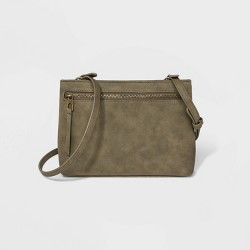 Zip Closure Crossbody Bag - Universal Thread™
