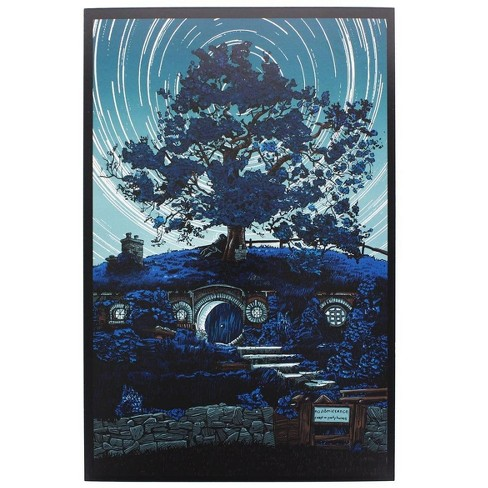 Nerd Block Lord of the Rings Bag End 8x10 Art Print by Tim Doyle (Nerd Block Exclusive) - image 1 of 1