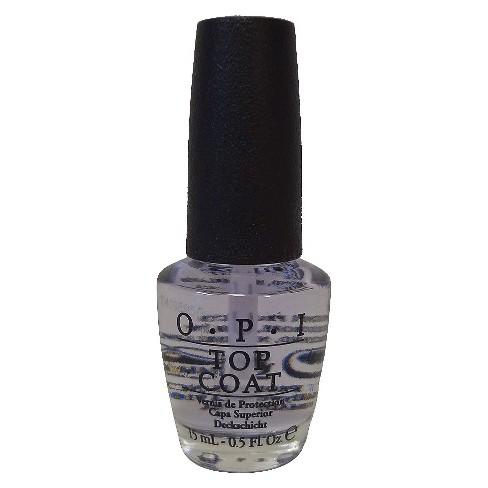 O.P.I Nail Treatment Top Coat - 0.5 Fl Oz : Target